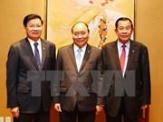 越老柬三国总理举行工作座谈会