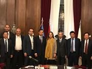 促进河内市与巴西、阿根廷和智利的合作