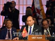 越南政府总理阮春福出席第12届东亚峰会