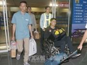 在菲律宾获救的越南船员已安全回国