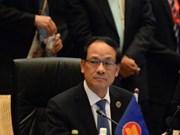 东盟秘书长黎良明:东海争端需要一个具有法律约束力的行为准则