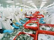 越南虾类对韩国出口增长29.8%