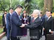 中国各大媒体密集报道习近平访越之旅