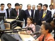 越南援建的柬埔寨9家广播电视台建设项目一期工程竣工投运
