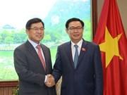 政府副总理王廷惠:希望三星电子越南公司成为在越外国投资商的典范