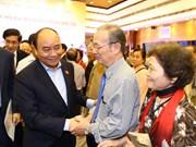 阮春福总理出席河内市巴亭郡奠边坊全民大团结日庆祝活动