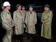 政府副总理郑廷勇赴宁顺省与庆和省视察第14号台风防御工作