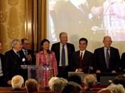 胡志明市经济法学大学副校长阮玉殿成为法国海外科学翰林院正式成员