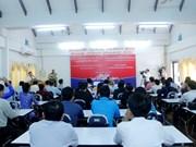 越南为老挝新闻工作者开展公关技巧培训班