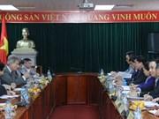 越南劳动总联合会与奥地利工会联合会举行会谈