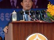 柬埔寨首相洪森:国家政治体系保持稳定
