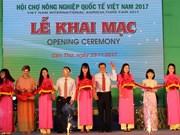 2017年越南国际农业展览会吸引300家单位和企业参展