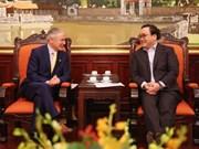 越南与爱尔兰加大合作力度