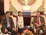 中国台湾医疗队在林同省免费看病、发放药品