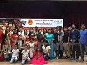 越南人民军边防部队艺术团赴印度演出