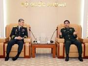 越南与韩国陆军加强合作