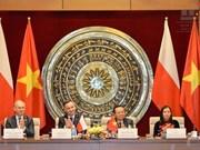 进一步加强越南国会和波兰议会友好议员小组的合作