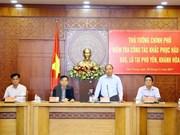 越南政府总理同意向遭受第12号台风袭击的省份提供一万亿越盾