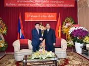 越老建交55周年:胡志明市领导祝贺老挝建国42周年