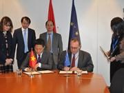 越南与欧盟签署财政协议