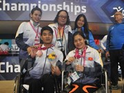 2017年世界残奥游泳锦标赛:越南再夺得两枚奖牌