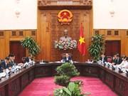 越南政府总理阮春福指导该礼BOT收费站暂时停止收费