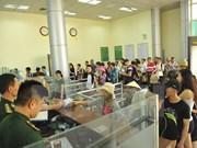 越中芒街—东兴口岸出入境旅客刷新纪录