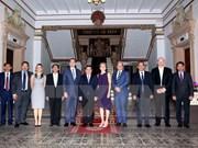 胡志明市与加拿大安大略省加大基础教育合作力度