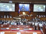柬埔寨国会组织机构健全