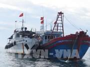 平顺省多错并举阻止渔船非法进入外国海域捕捞的情况