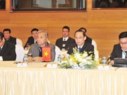 越老边境工作代表团第27次年度会议在河内召开