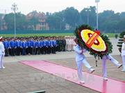 胡志明共青团第十一次全国代表大会第一场会议拉开序幕