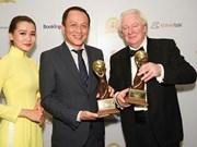 越南航空公司荣获2017年世界旅游大奖两个权威奖项