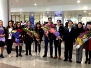 越南学生在2017年第十五届国际中学生俄语奥赛中荣获银牌