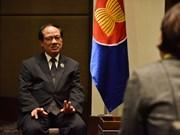 黎良明即将结束东盟秘书长任期