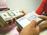22日越盾兑美元中心汇率上涨3越盾