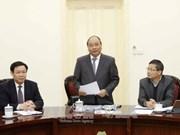 阮春福总理:经济咨询小组要当好政府的参谋与助手