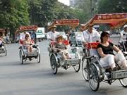 赴越旅游的外国游客量继续猛增