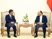 政府总理阮春福会见日本经济产业大臣茂木敏充