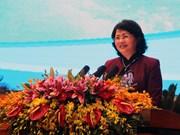 越南国家副主席邓氏玉盛:将竞赛奖励工作与中央各项决议和指示相结合
