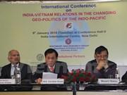 越南与印度努力维护全面战略伙伴关系