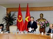 王廷惠:国家一站式服务机制和东盟一站式服务机制的实施具有积极效果