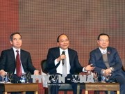 """阮春福:越南力争发展成为""""亚洲经济新虎"""""""