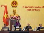 越南国会常务委员会第20次会议圆满闭幕