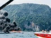泰国一艘快艇爆炸造成16人受伤