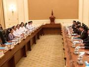 老挝与缅甸加强双边合作