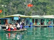 越南下龙湾万门渔村成最值得一去的村庄
