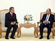 越南政府总理阮春福会见奥地利新任驻越南大使