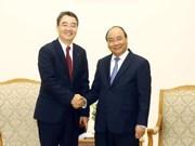 政府总理阮春福会见越南斗山重工业有限公司总经理