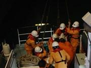 越南及时救助海上遇险的菲律宾籍船员